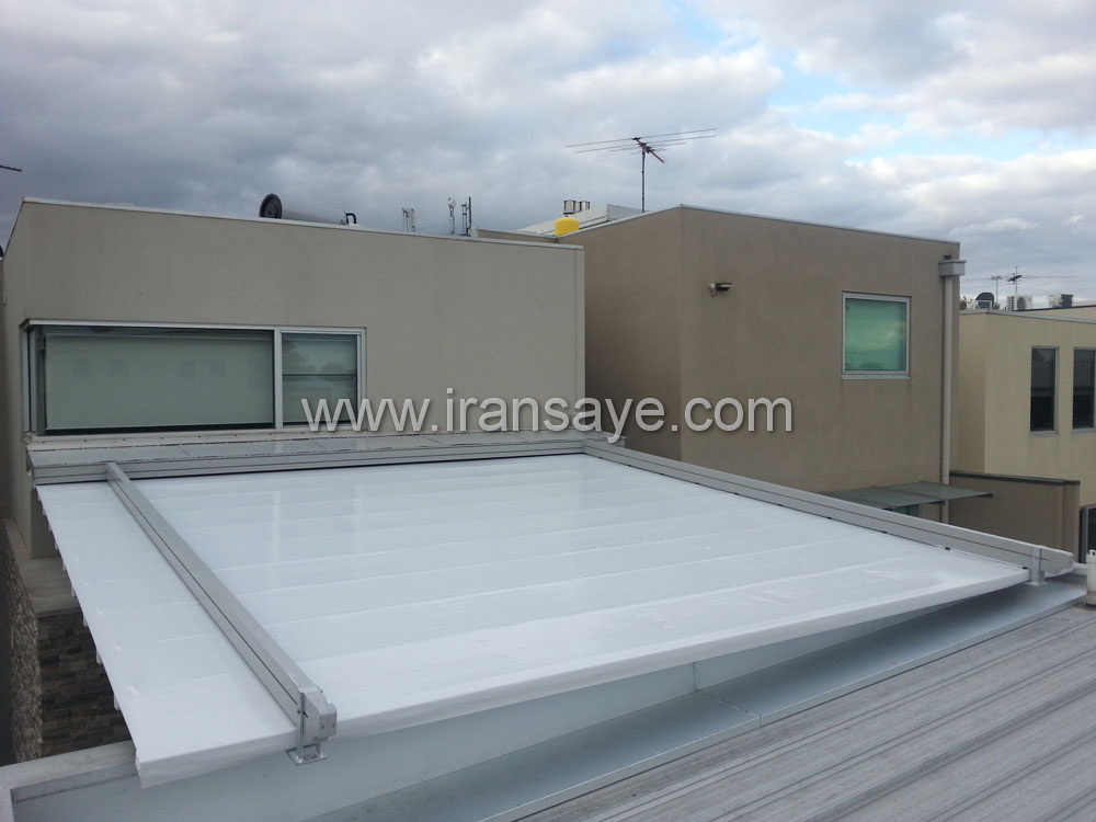 سقف برقی حیاط منزل مسکونی