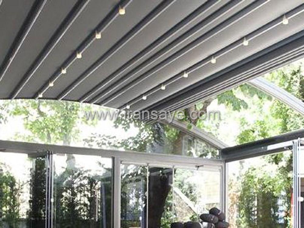 سقف متحرک برای گلخانه
