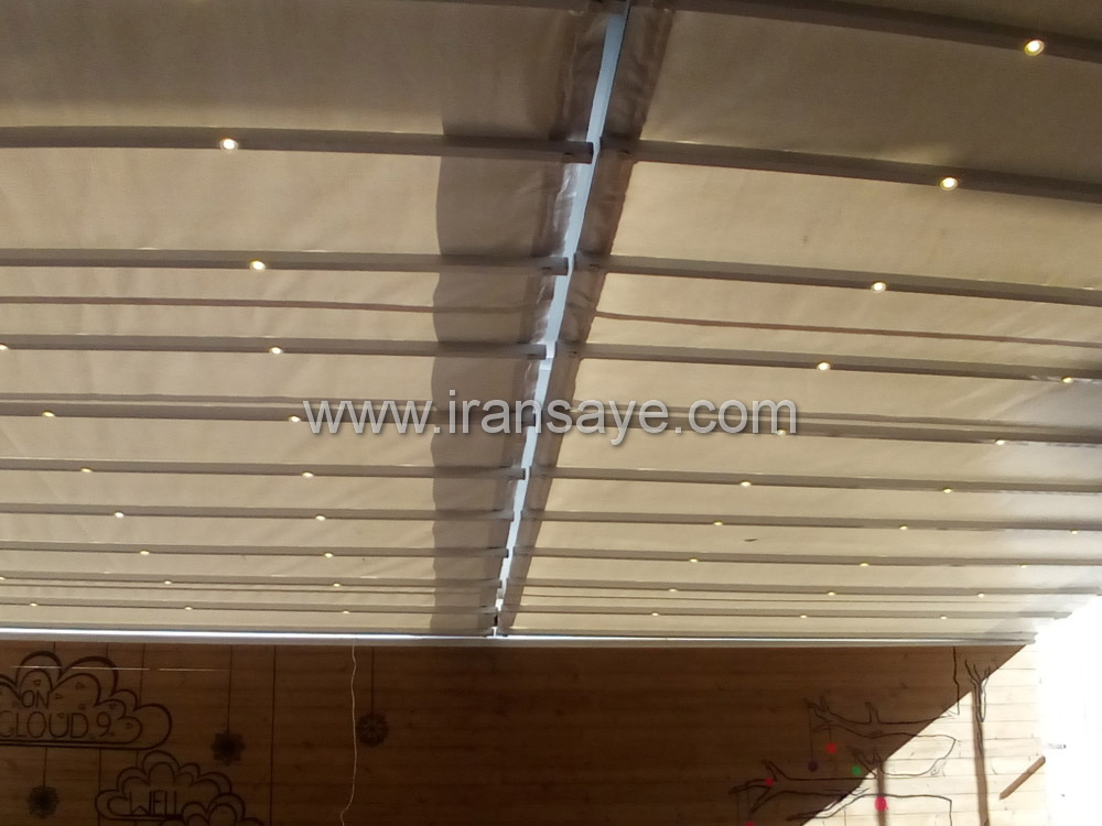 نمونه سقف متحرک رستوران